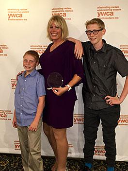 Director, Jennifer Blum received the YMCA Southeastern Massachusetts 2016 Women of Distinction Award